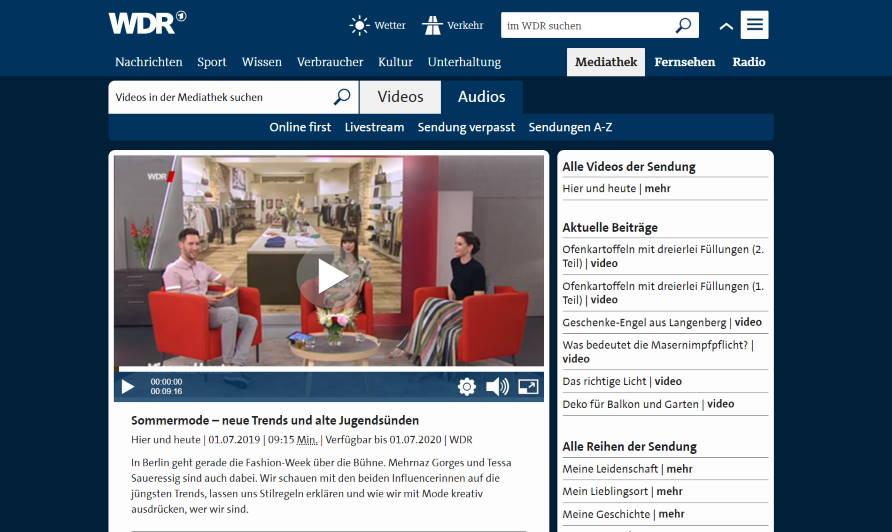 .comTessa Influencer Agentur - Referenzen - WRD Auftritt von Tessa Saueressig